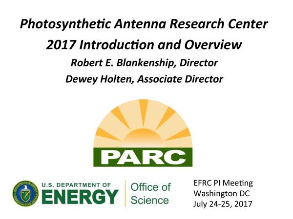PARC Highlight Talk